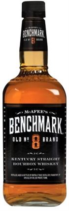 McAfee's Benchmark Old no. 8, Kentucky Straight Bourbon - 40%