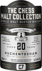The Chess Malt C7 - Auchentoshan 20 år