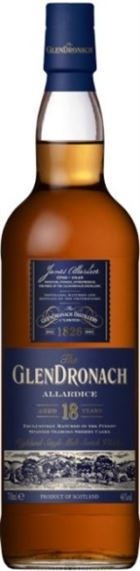 GlenDronach 18 års Allardice, Single Malt Whisky