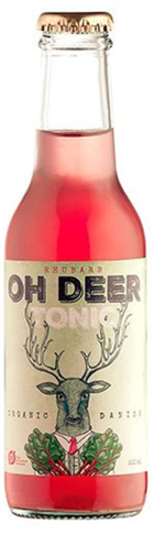 Oh Deer Rhubarb Organic Tonic Water - 200 ml