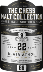 The Chess Malt B8 - Blair Athol 22 år