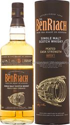 BenRiach Peated Cask Strength, Batch 1 - 56%