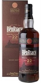 BenRiach 22 Years Old, PX Albariza Cask - 46%