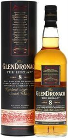 GlenDronach 8 år Hielan, Single Malt Whisky