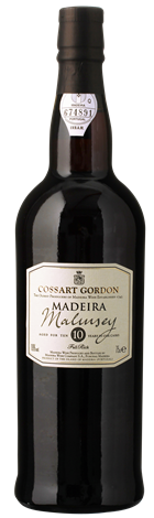 Cossart Gordon Malmsey 10 Years Old Madeira
